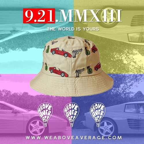BUCKET HAT : THE WORLD IS YOURS